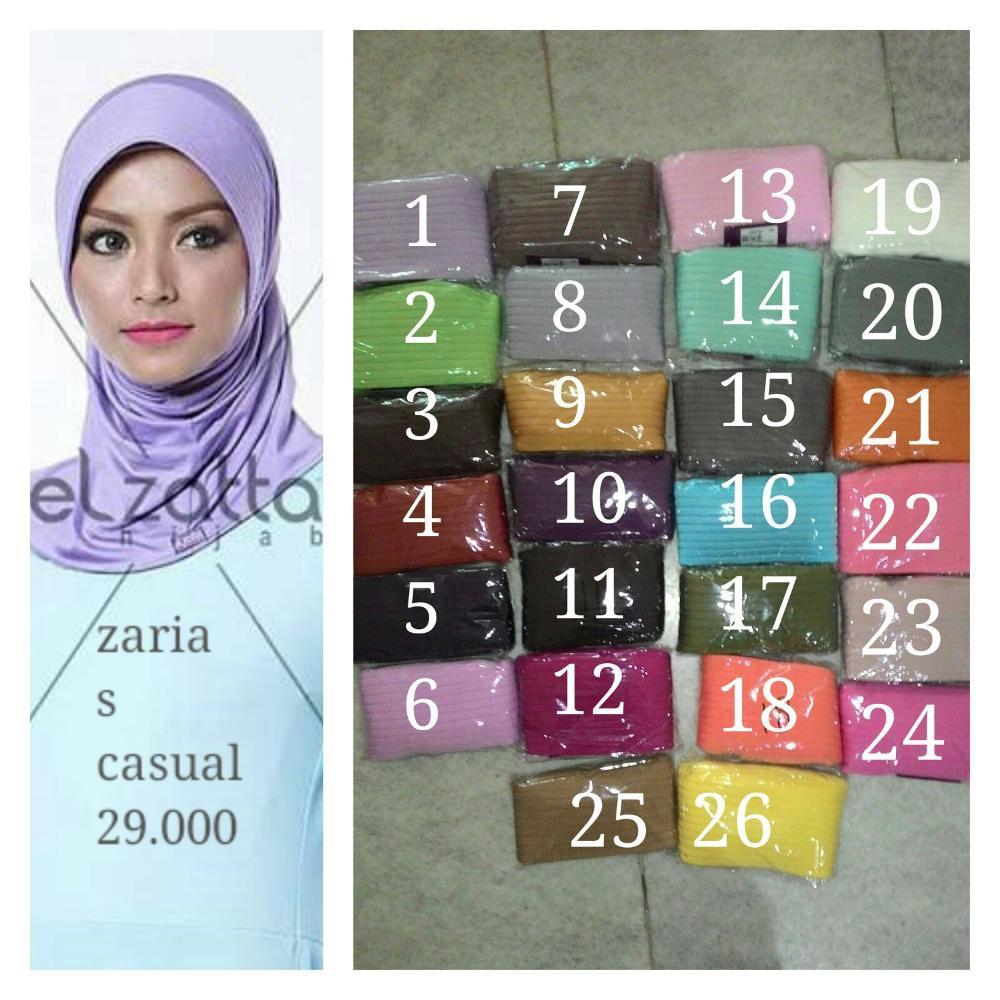 Dijual Bergo Elzatta Zaria S Casual Limited Shopee Indonesia