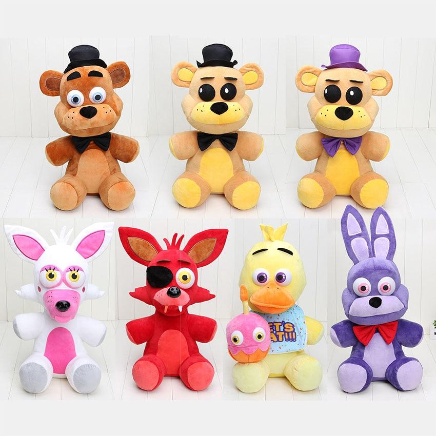 Koala Stuffed Animals Mini, 18 45cm Five Nights At Freddys Plush Toys Freddy Foxy Bear Chica Mangle Bonnie Plush Stuffed Fnaf Doll Toys For Christmas Gift Shopee Indonesia