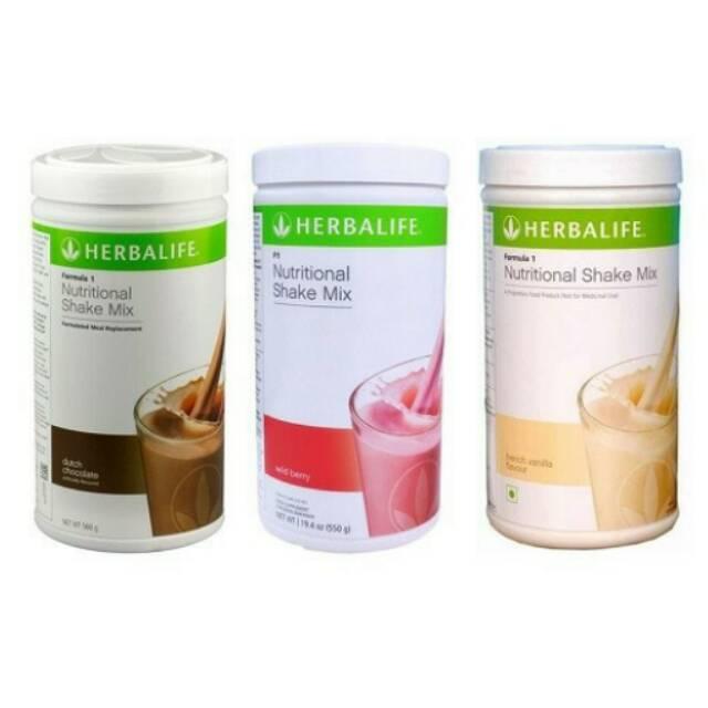 """Susu Penggemuk Badan """"Herbalife Nutritional Shake Mix"""""""