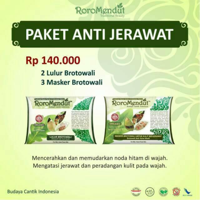 Masker Lulur Roro Mendut Nano Infusion System mini size, kemasan mini kecil imut 20 gram | Shopee Indonesia