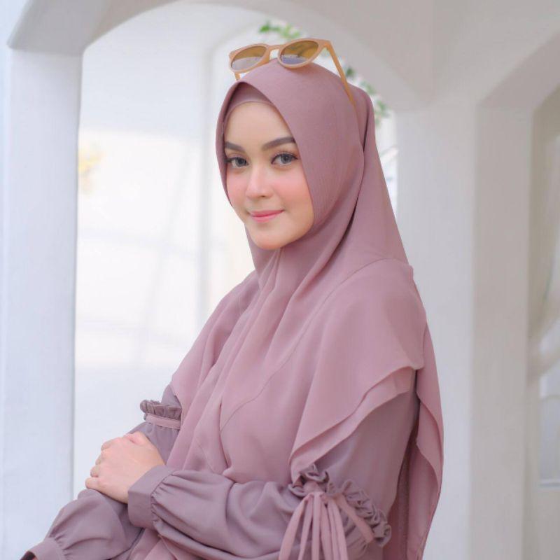 humaira by akifa hijab/gamis murah malang/akifa official/gamis set humaira akifa