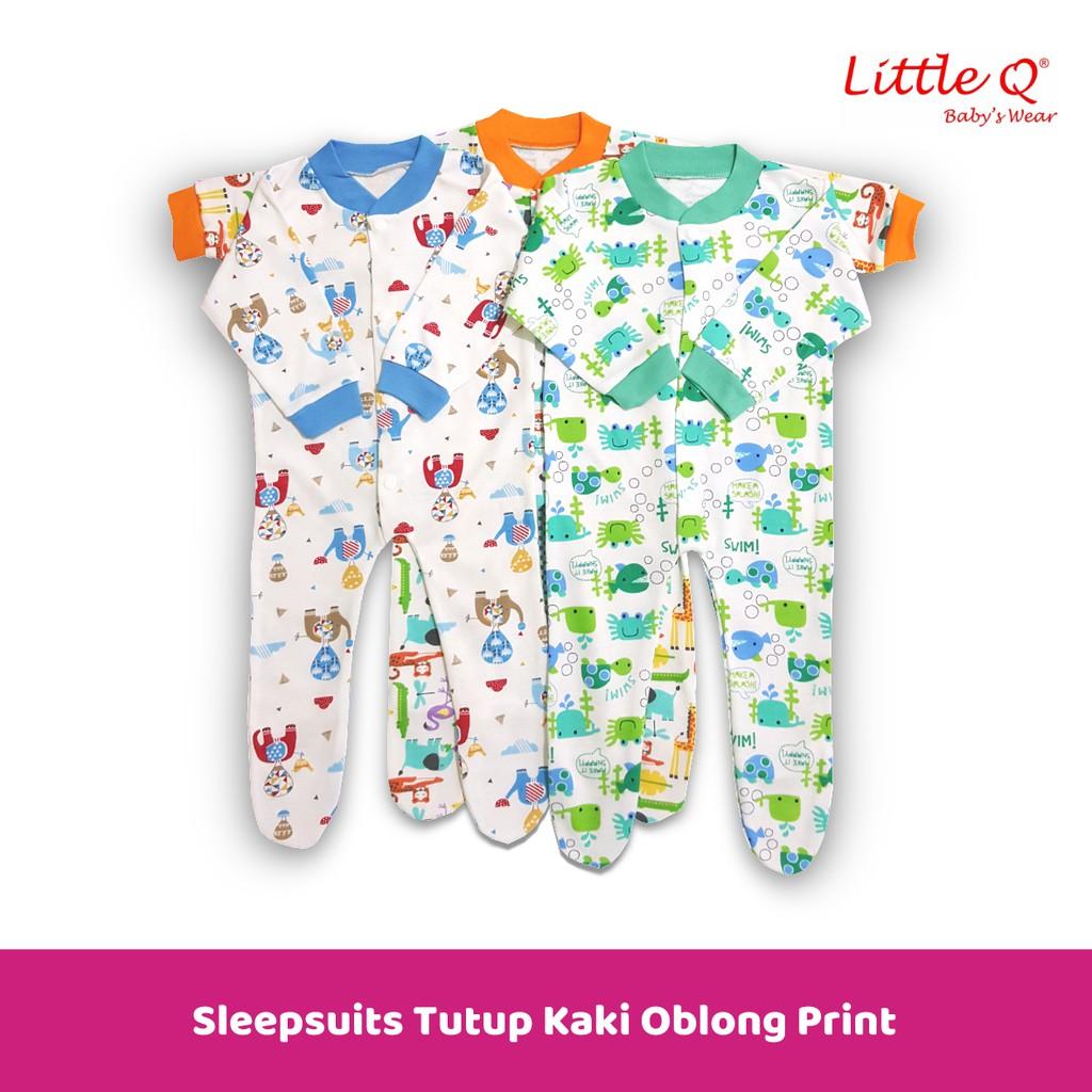 Sleep Suits tutup kaki oblong Little Queen NB  pack isi 3  b30fe5187e