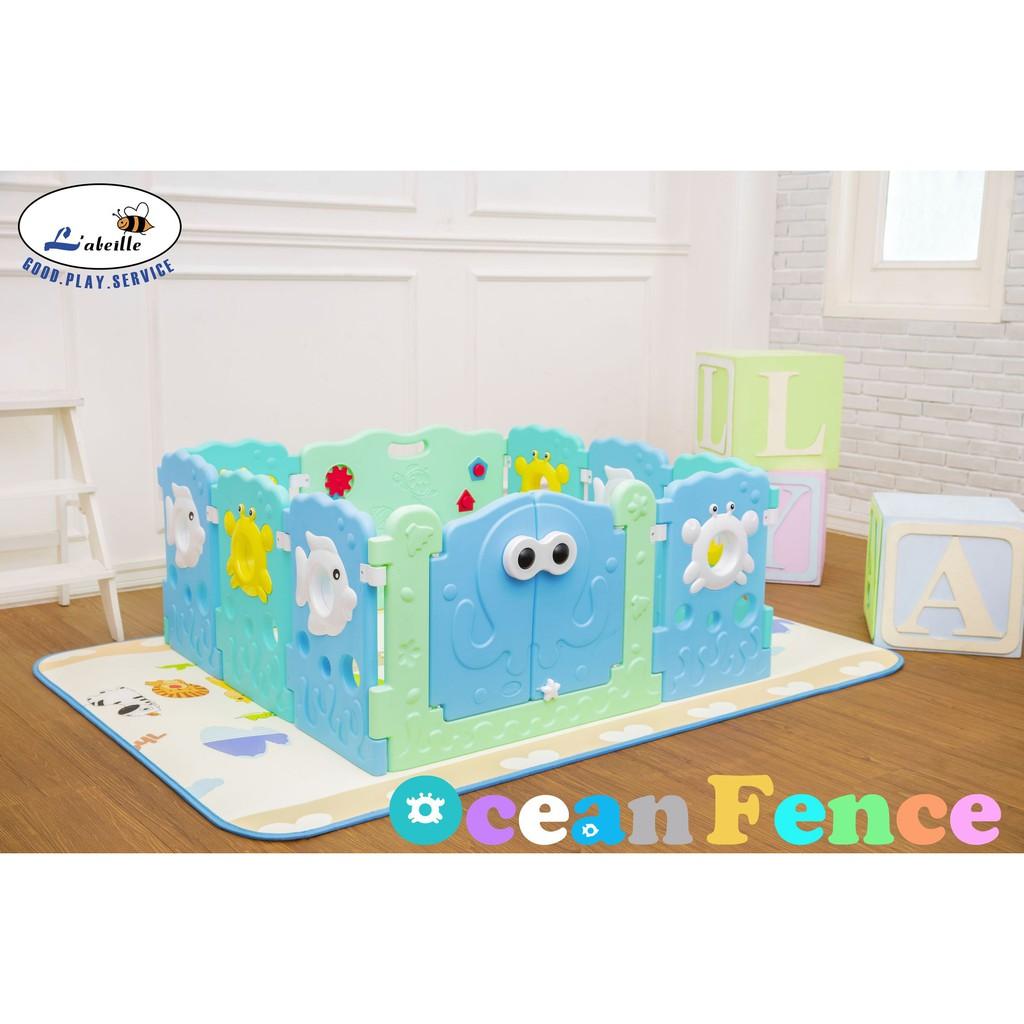 Labeille Ocean Fence 8 Plus 2 Pagar Pengaman Anak