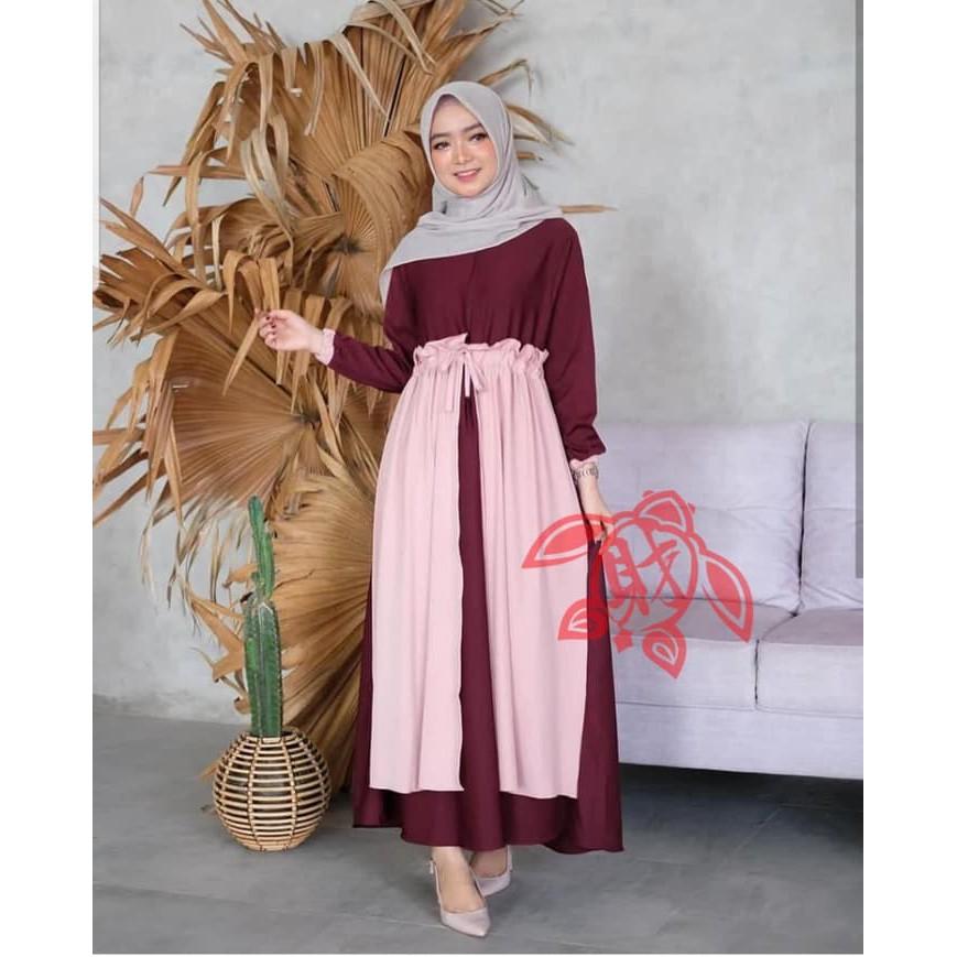 Model Baju Gamis Kekinian Untuk Remaja Hijabfest