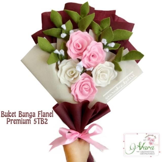 Buket Bunga Premium 5tb2 Buket Bunga Flanel Buket Bunga