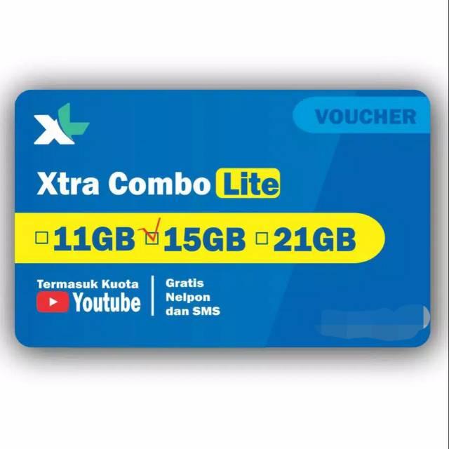 NEW!!! VOUCHER DATA / VOUCHER INTERNET / VCR XL COMBOLITE 4+ / 40 GB- ABIRA-CELL