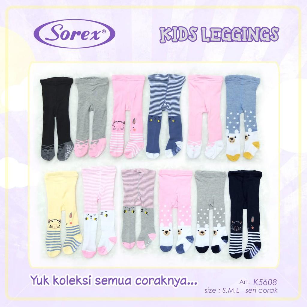 Sorex Legging Bayi Laki Perempuan Tutup Kaki K5608 K5607 K5606 Shopee Indonesia