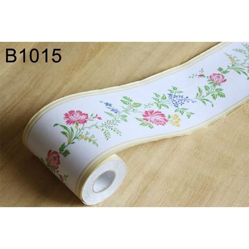 B106ls Wall Border Sticker Bunga Cantik