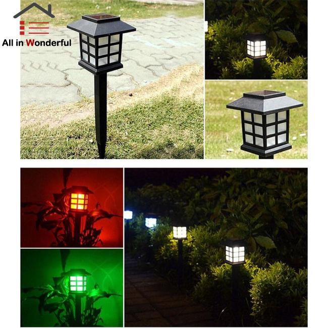 2pcs Lampu Taman Led Tenaga Surya Dengan Sensor Cahaya Untuk Dekorasi Shopee Indonesia