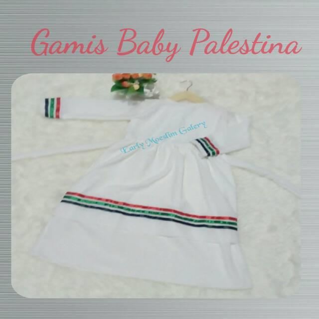 Gamis Baby Palestina Putih Size 2 Shopee Indonesia