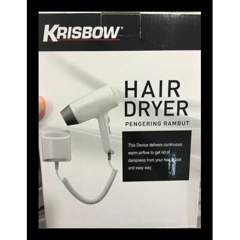 HOT PROMO !!! HAIR DRYER PENGERING RAMBUT KRISBOW  3c26e639d5