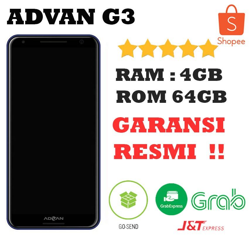 Advan G3 Ram 4gb Rom 64gb Speaker By Harman Kardon Garansi Resmi