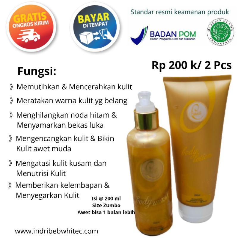 Pemutih Seluruh Badan Terbaik Sabun Dan Lotion Whitening Body Untuk Kulit Kering Bebwhite C Skincare Shopee Indonesia