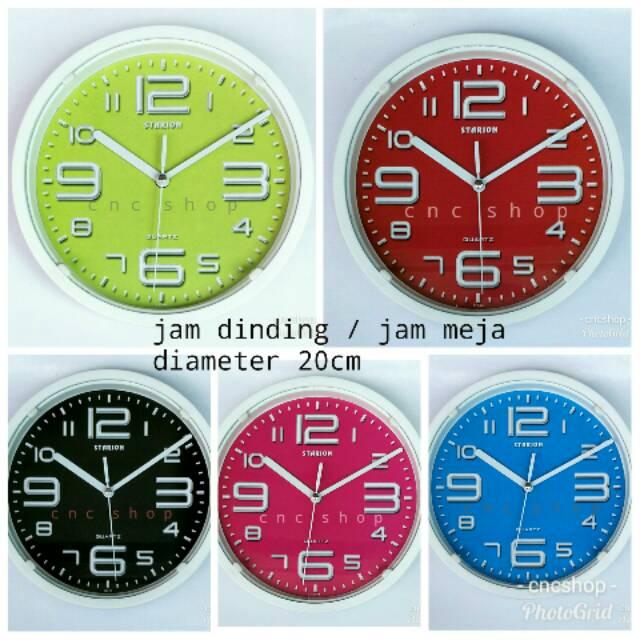 CNC SHOP Jam Dinding Diamond 232-9  01af2c883f