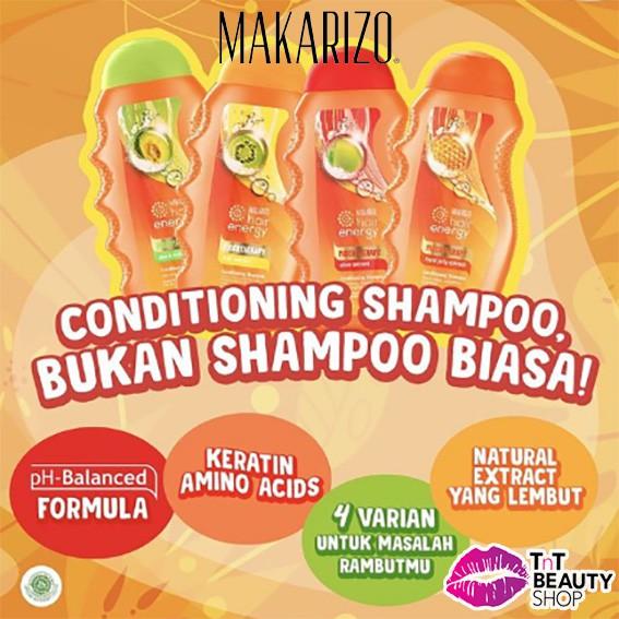 Makarizo Hair Energy Fibertherapy Conditioning Shampoo 170ml   330ml-2