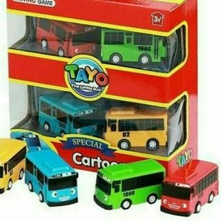 Mainan Mobil Anak Hai Tayo Isi 4 Pcs Pull Back A315 Shopee Indonesia