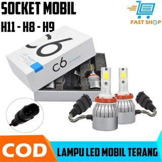 Cree Lampu Led H8 H9 H11 200w 20000lm 6000k Low Beam Untuk Headlight Fog Lamp Monking Shopee Indonesia