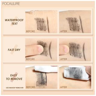 Focallure 2 In 1 Maskara + Eyeliner Anti Air Untuk Hasil Bulu Mata Tebal Dan Lentik 8