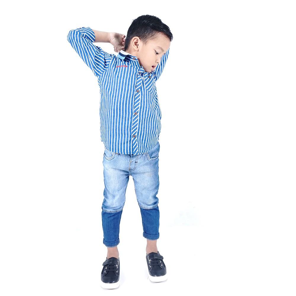 Kids Icon Celana Anak Laki Colours Bermuda Cl7004k018k B Torio Rock Denim 2 3 Y Shopee Indonesia