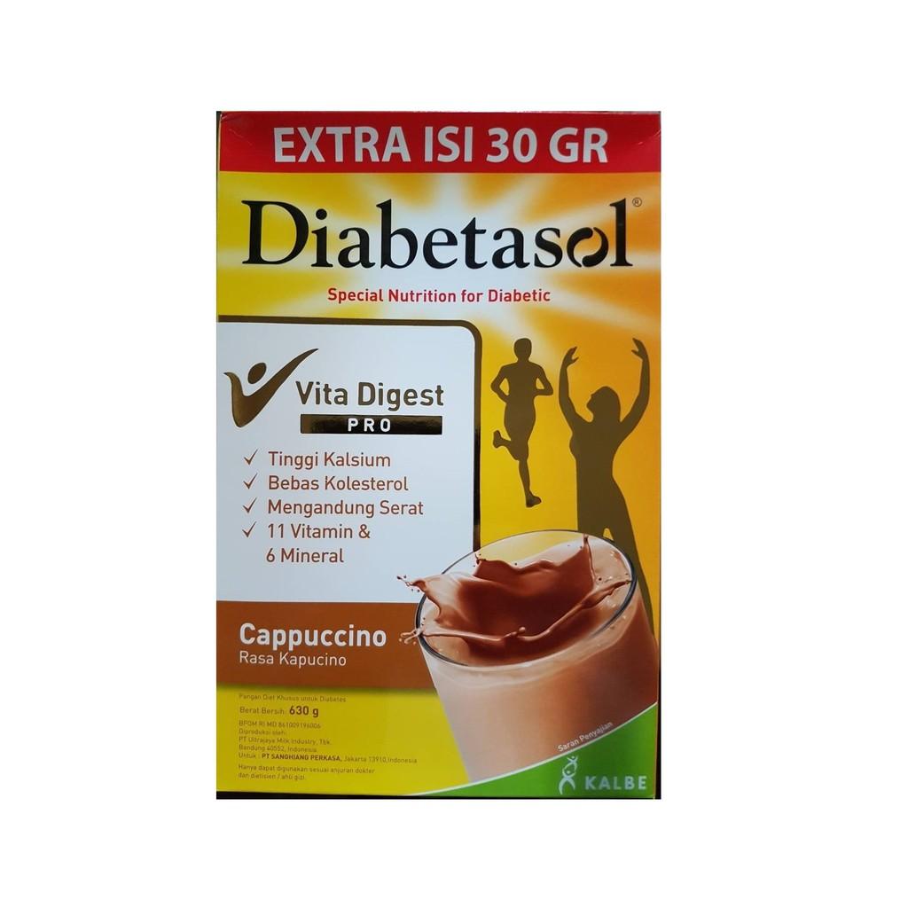 Diabetasol Cappuccino 600 gr
