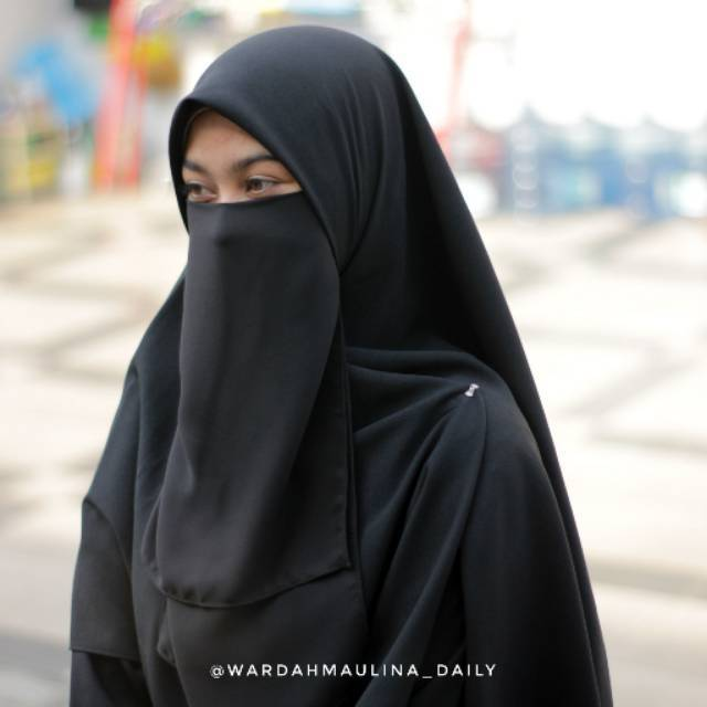 Deisy Khimar Tanpa Cadar By Wardahmaulina Daily Shopee Indonesia