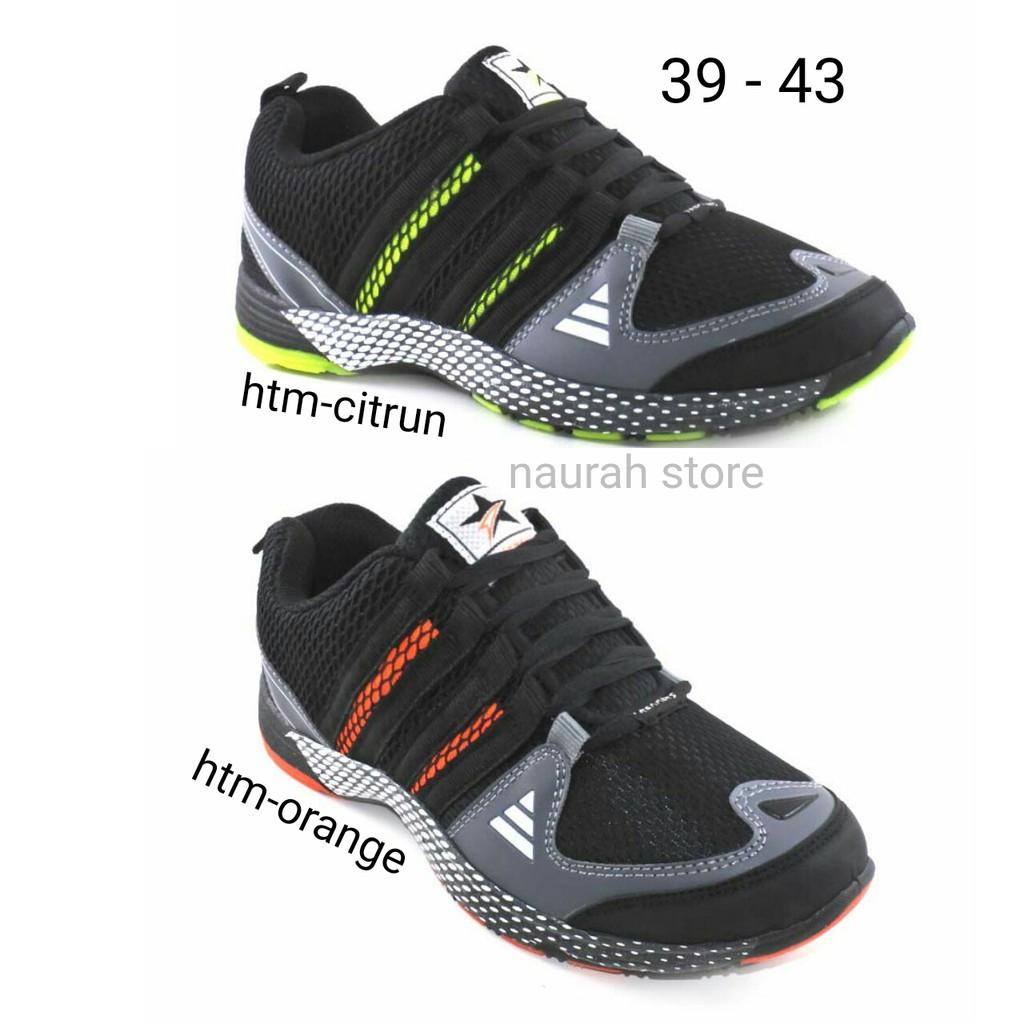 Obral Sepatu Sport 100% Asli Original Ando Lindsey Hitam Pink Abu ... 16e548d8cb