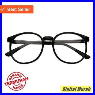Indi Retro Round Clear Lens Fashion Glasses 14977 L - Kacamata Wanita | Shopee Indonesia