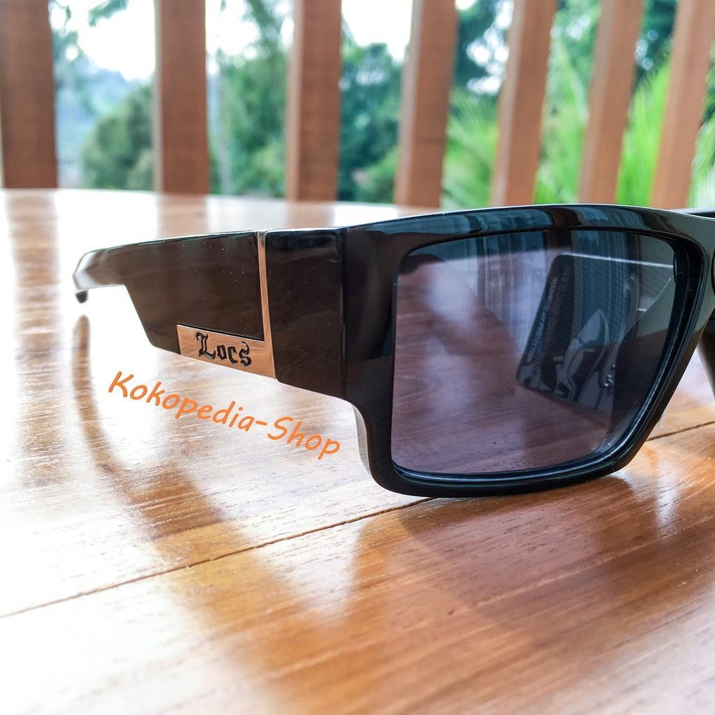 c3b0dde3221 Kacamata LOCS Sunglasses Hardcore Shades ORIGINAL Black Color II / Cholo  Gangsta