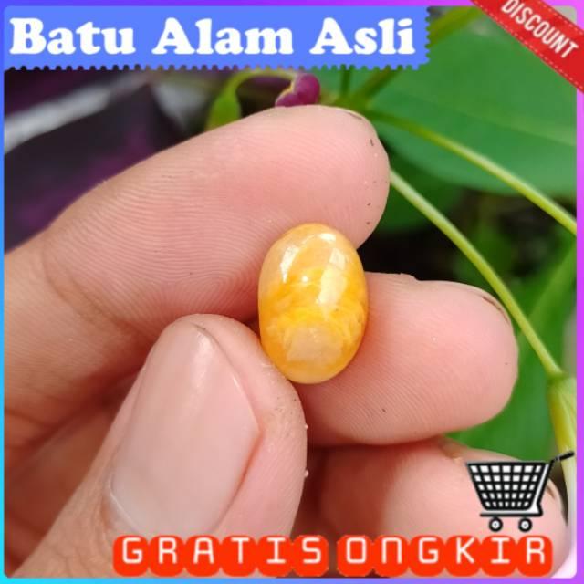 Yakut kuning asli natural yellow safir batu cincin alam wulung akik katilayu bacan kristal