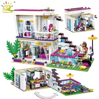 Lego legos compatible toys Big star livy's house Children's educational gift toys 598pcs