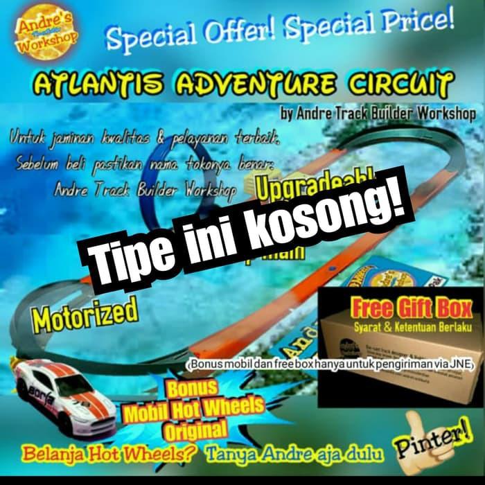 Hotwheels Track Atlantis Adventure Circuit Custom Hot Wheels Track Atb Ese6990 Shopee Indonesia