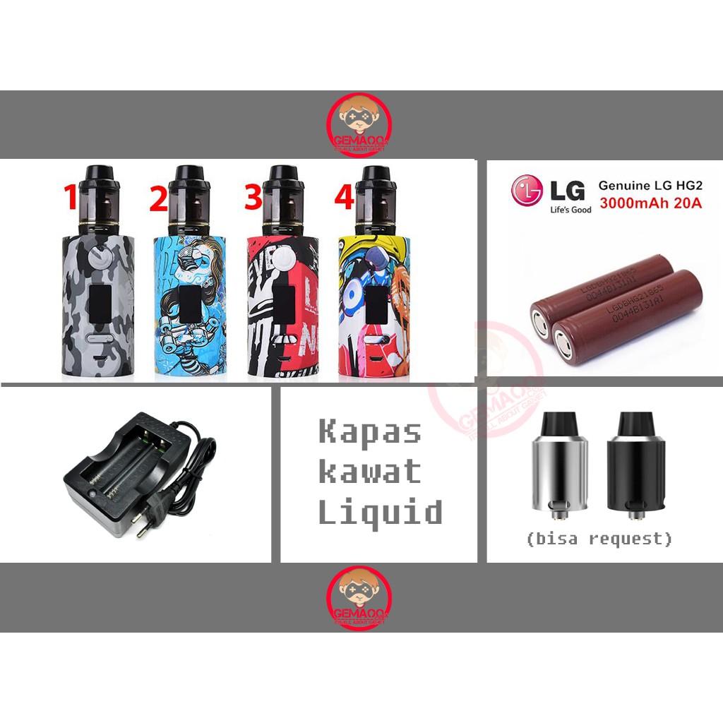 Paket Siap Kebul Psk Ekonomis Vapor Strom Vaporstrom Puma Box Mod 200w Moroasih Shopee Indonesia