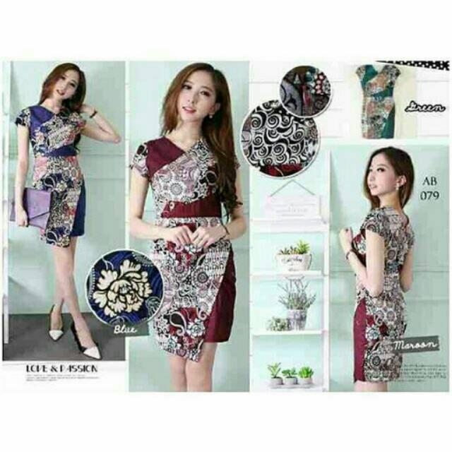 Batik Dress Code Bb0019 Shopee Indonesia