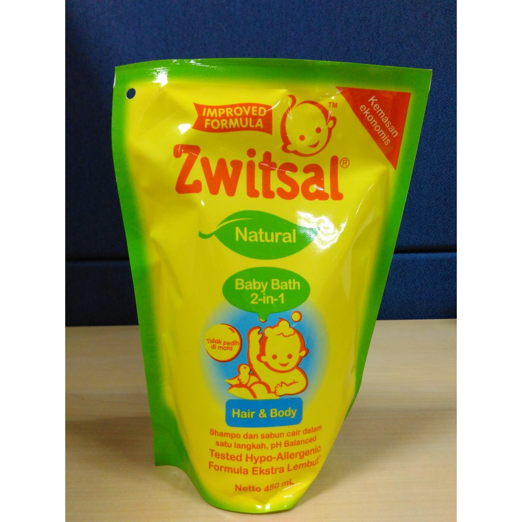 Zwitsal Natural Baby Bath 2 In 1 Hair Body 300ml Shopee Indonesia Kids Beauty Pink Pump 280ml Twin Pack