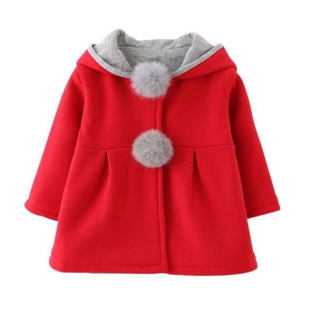 Jaket Hoodie Pakaian Luar Bertudung Motif Telinga Kelinci Hangat Untuk Bayi | Shopee Indonesia