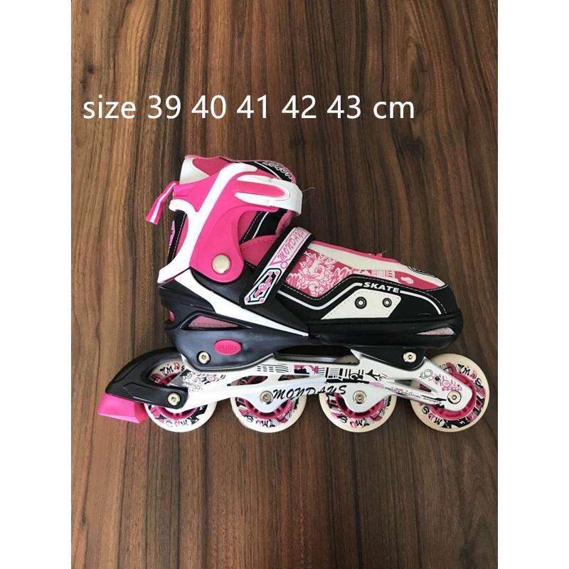Sepatu Roda Anak Murah Sepatu Inline Skate Lampu  d28ca7c0c9