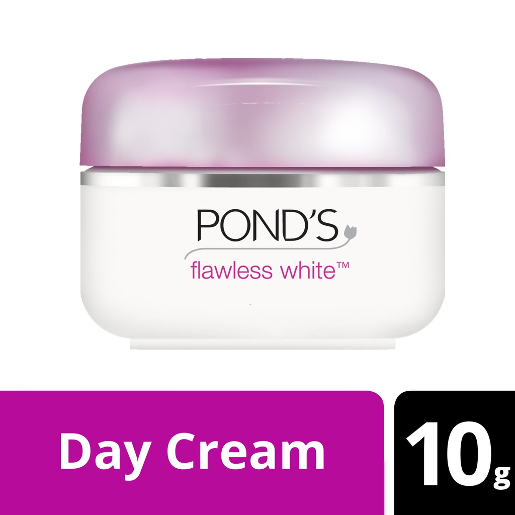 Deoonard 7 Days Whitening Cream Krim Pemutih Wajah: Pond'S Flawless White Lighting Day Cream SPF 18 10G