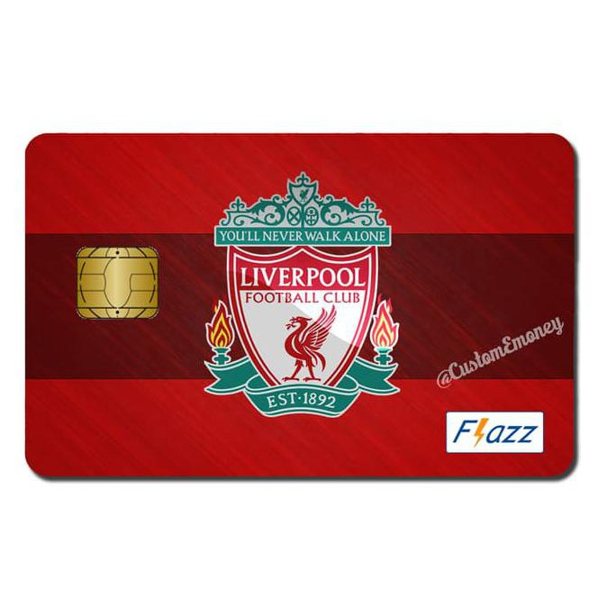 Terbaru Kartu Bca Flazz Custom Liverpool Fc Football Club Produk Laris Shopee Indonesia