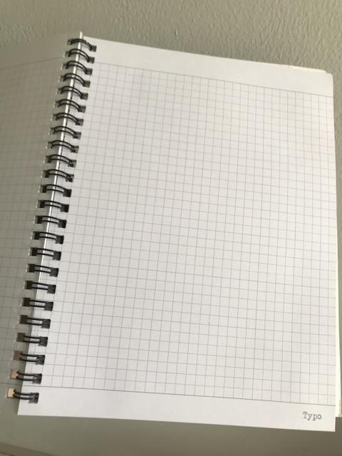 Buku Tulis Notes Notebook Note Book Kotak Kecil Grid Matematika Motif Typo Original Keren Unik A5 Shopee Indonesia