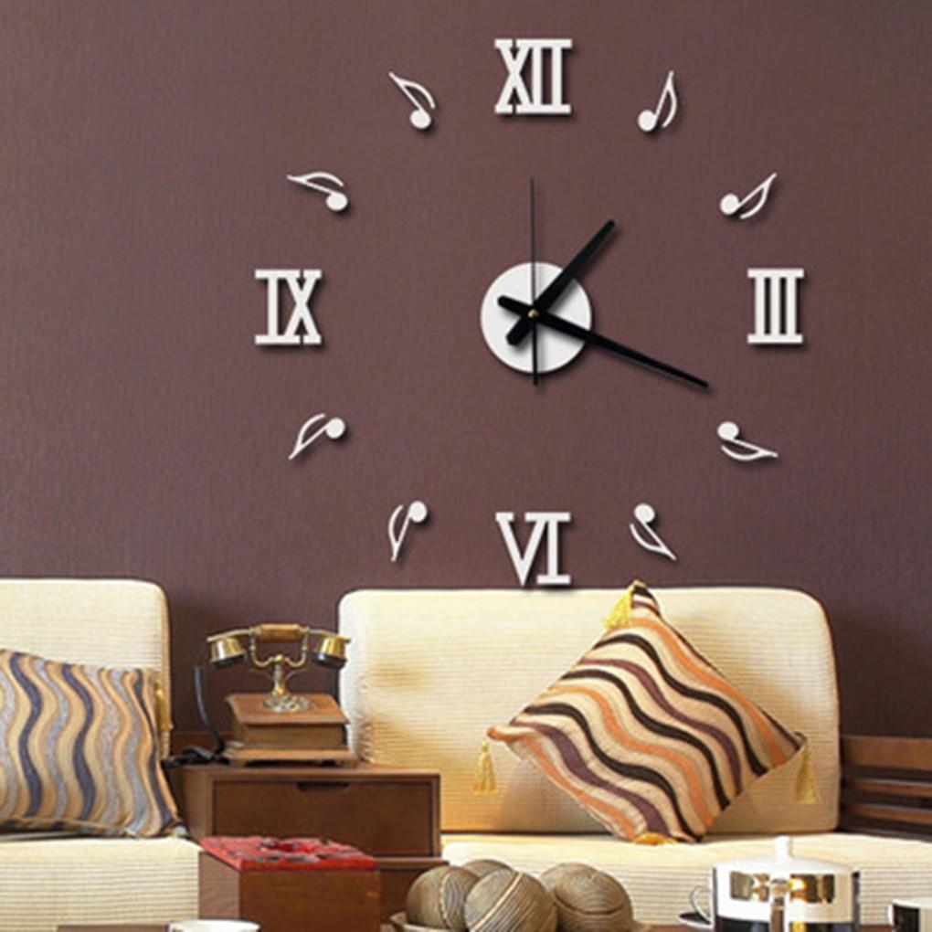 Jam Dinding DIY Dari Akrilik Dengan Digit Romawi dan Notasi Musik ... 84fde2af4b