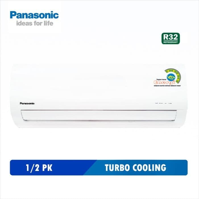 AC PANASONIC 1/2pk ZN 5WKP AC semi low watt 350watt non inverter