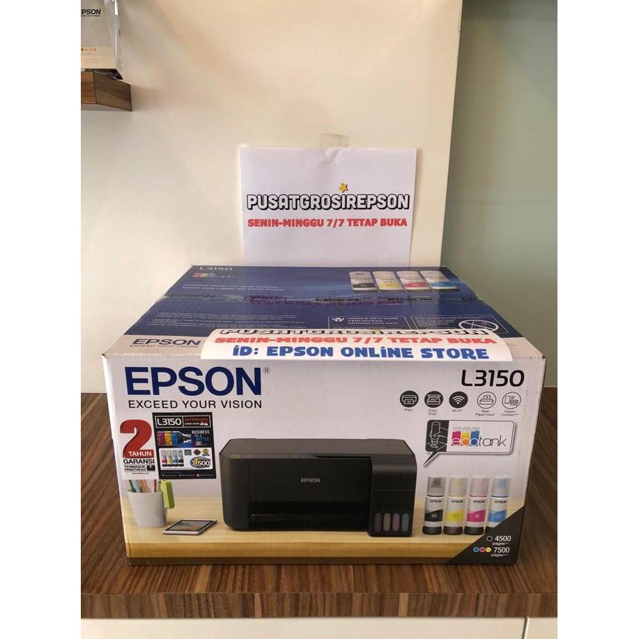 Perbandingan harga Diskon Printer Epson L3150 Ecotank All In