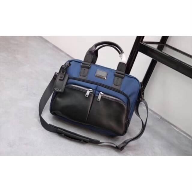 briefcase tumi alpha bravo albany /tas laptop terlaris