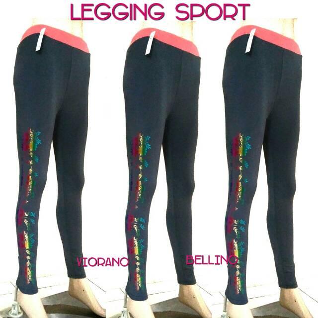 Celana Legging Wanita Sport Celana Olahraga Fit To Xxl Sport Wear Celana Legging Cewek Strech Yoga Shopee Indonesia