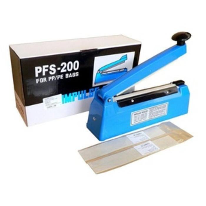 Q2 Impulse Sealer PFS-200 Pres Plastik 20 Cm/Mesin Pres Plastik/Alat