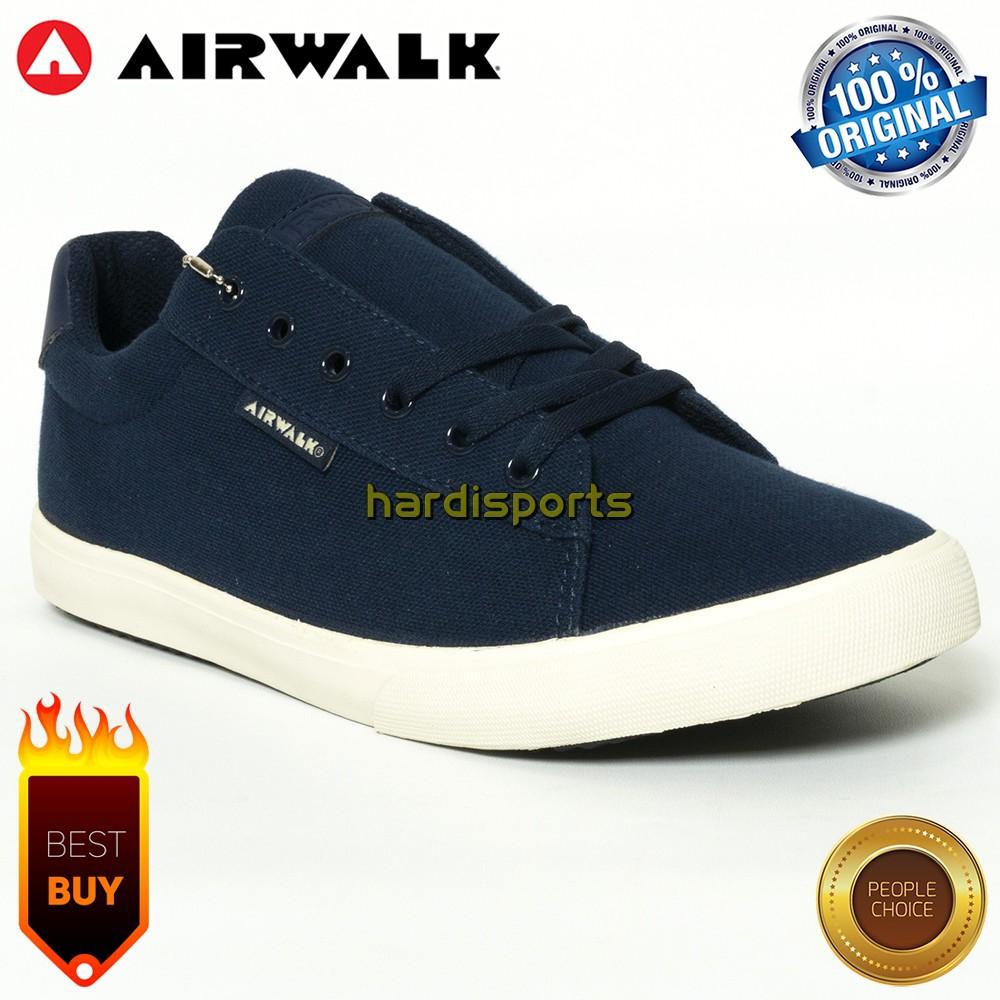 Sepatu Sneaker Pria Airwalk Endi AIWX8F0701NV - Navy ORIGINAL