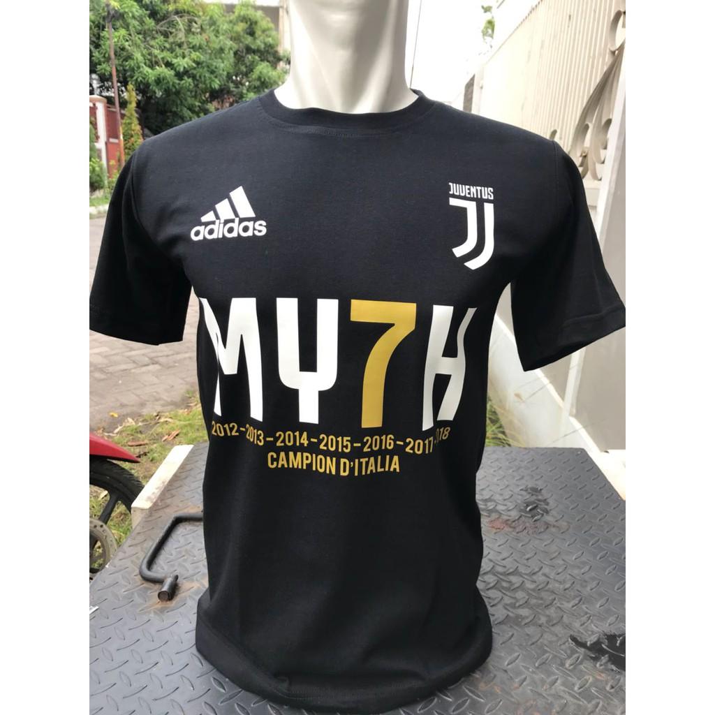 Promo Belanja Juventus Online Agustus 2018 Shopee Indonesia Kaos Baju Bola Juve New Logo 2017