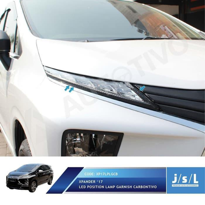 AKSESORIS MITSUBISHI XPANDER LIST LED DEPAN JSL / LED POSITION | Shopee Indonesia