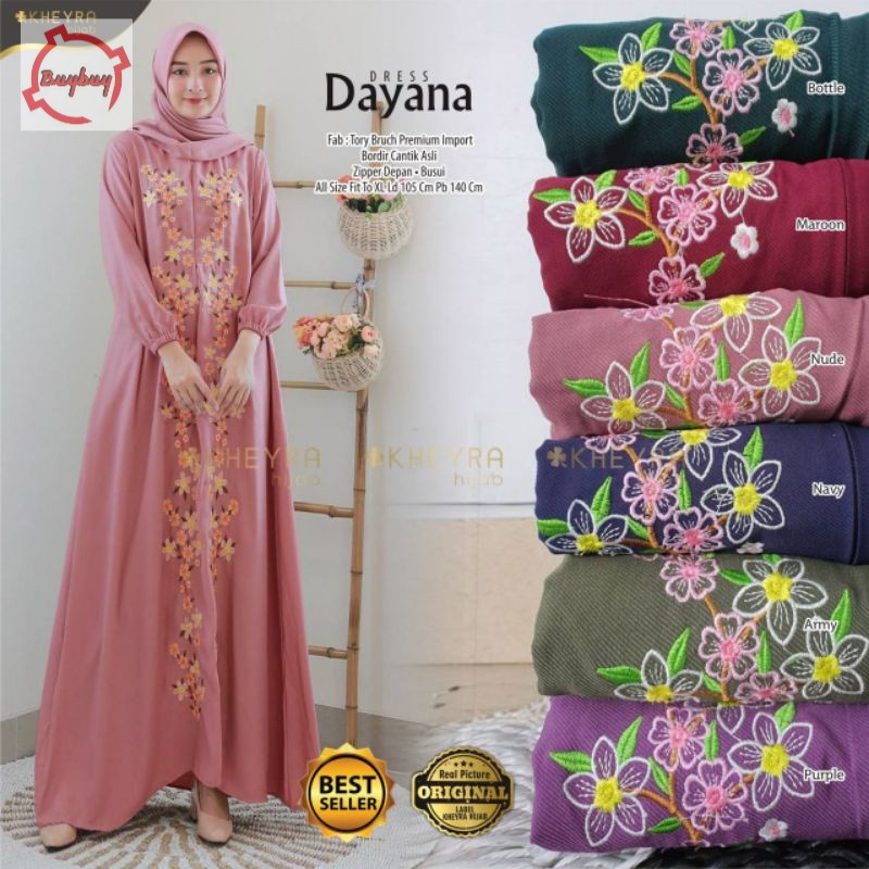 DAYANA DRESS ORIGINAL BY KHEYRA