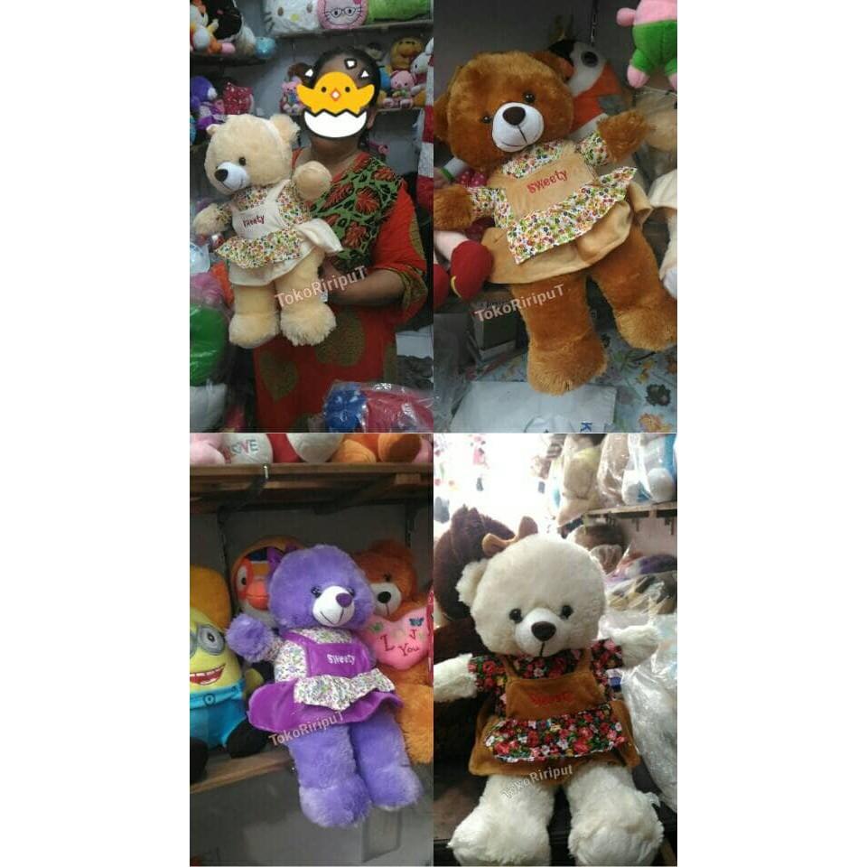 Dapatkan Harga tas Boneka Souvenir Boneka Teddy Bear Diskon | Shopee Indonesia